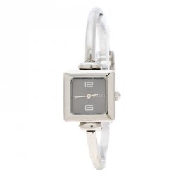 e6b41ba0efb Gucci Black Stainless Steel 1900L Women s Wristwatch 19 mm
