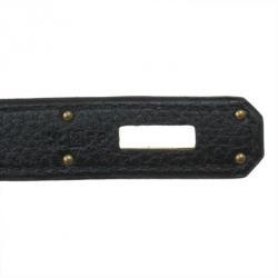 Hermes Black Togo Birkin 35