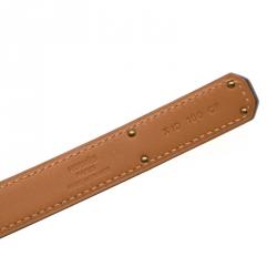Hermes Rouge Casaque  Epsom Leather Gold Hardware Kelly Belt Size 96.5cm