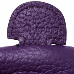 Hermes Ultraviolet Clemence Leather Evelyne III PM Bag