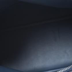 Hermes Blue Sapphire Togo Leather Bolide 31 Bag