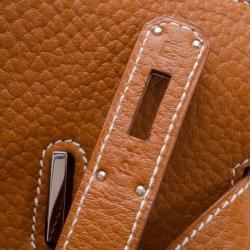 Hermes Gold Togo Leather Birkin 40