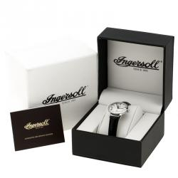 Ingersoll White Stainless Steel Grafton II Women's Wristwatch 30MM
