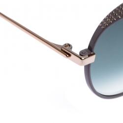 Jimmy Choo Light Purple/Grey Gradient Ello Aviator Sunglasses