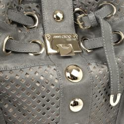 Jimmy Choo Limited Edition Suede Riki Bag