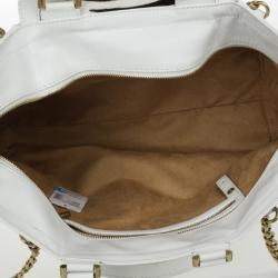 Jimmy Choo Camille Large Leather and Calf Hair Tote