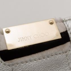 Jimmy Choo Silver Long Clutch