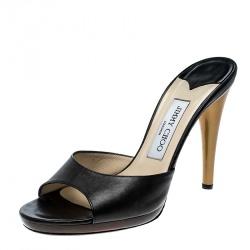 30f6a5cc6e727f Buy Gucci Yellow Patent Leather Peep Toe Horsebit Slides Size 37.5 ...