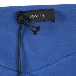 Joseph Blue Silk Hala Midi Skirt M