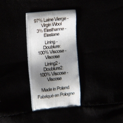 Joseph Black Stretch Wool Laurent Blazer L