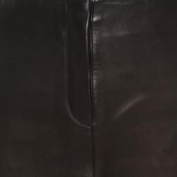 Joseph Brown Minnie Nappa Matte Lamb Leather Skirt M