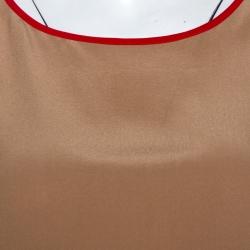Joseph Beige Silk New Debs Sleeveless Top S
