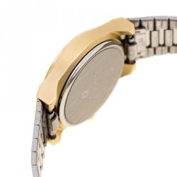 Junghans Yellow Gold Plated Steel EWJ-1004L Women's Wristwatch 22 mm