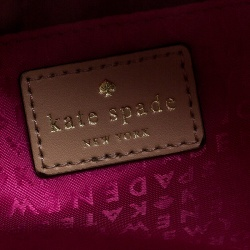 Kate Spade Multicolor Leather Sandy Hill Circle Trunk Satchel