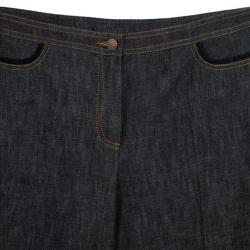 Kenzo Frill Denim Suit XL