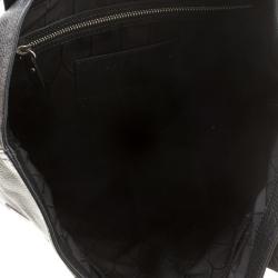 Kenzo Black Leather Eye Shopper Tote