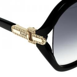 Korloff Black/Black Gradient KOR2031 Oversize Sunglasses