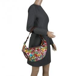 adb97e6f05c33 حقيبة كتف لانسل قماش مطبوعة متعددة الألوان