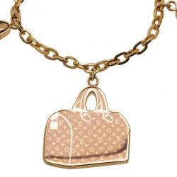 Louis Vuitton Iconic Monogram Speedy Bag Charm