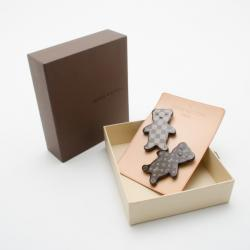 Louis Vuitton Limited Edition Nonours Teddy Bear Brooches