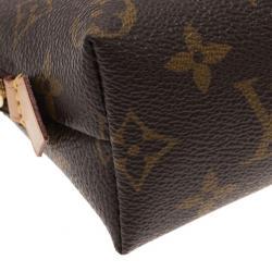 Louis Vuitton Monogram Canvas Cosmetic Pouch