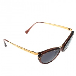 b74a8e6e37 Louis Vuitton Brown Tortoise Shell Black Eve Z0156W Cat Eye Sunglasses