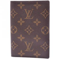 e07c3abd73a9 Buy Gucci Beige Brown GG Canvas and Leather Passport Cover 157952 at ...