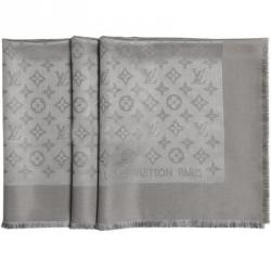 Louis Vuitton Verone Monogram Wool and Silk Shawl
