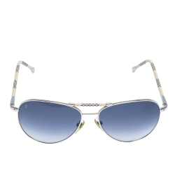 Louis Vuitton Damier Azur Conspiration Pilote Aviator Sunglasses