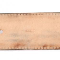 Louis Vuitton Damier Azure Initials Belt 90 CM