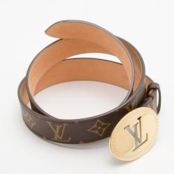 Louis Vuitton Monogram Cut Ovale Belt