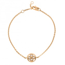 Louis Vuitton Blossom BB Diamond 18k Yellow Gold Bracelet