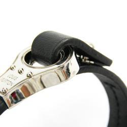 Louis Vuitton Noir Leather Bracelet 21