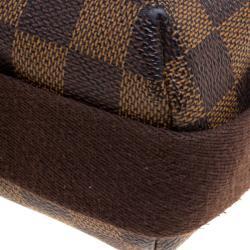 Louis Vuitton Damier Ebene Canvas Brooklyn GM Messenger Bag