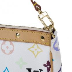 Louis Vuitton White Monogram Multicolore Pochette Accessoires