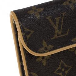 Louis Vuitton Monogram Canvas Pochette Florentine