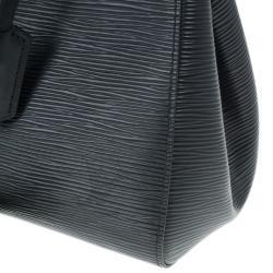 Louis Vuitton Black Epi Marly BB