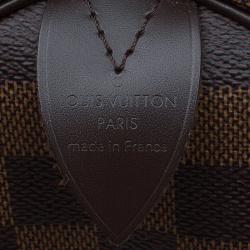 Louis Vuitton Damier Ebene Canvas Speedy 25