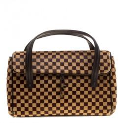 da0d567ed10 Louis Vuitton Damier Sauvage Calfhair Limited Edition Lionne Spawn Bag
