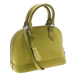 Louis Vuitton Citron Epi Leather Alma BB Bag