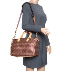 b42a2298b61d Louis Vuitton Peche Monogram Canvas and Leather Limited Edition Eden Speedy  30 Bag