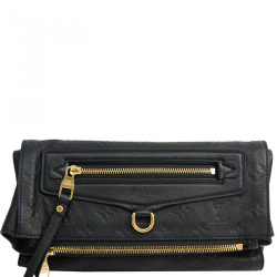 571affb40eac Louis Vuitton Bleu Infini Monogram Empreinte Leather Petillante Clutch Bag