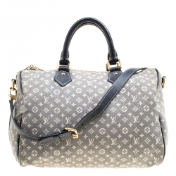 6101a3a4307d Louis Vuitton Encre Monogram Idylle Speedy Bandouliere 30 Bag