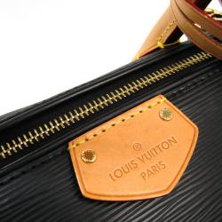Louis Vuitton Noir Epi Leather Doc PM Bag