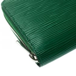Louis Vuitton Green Epi Leather Zippy Wallet