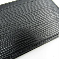 Louis Vuitton Noir Epi Leather Card Holder