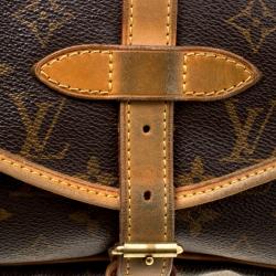 Louis Vuitton Monogram Canvas Saumur 30 Bag