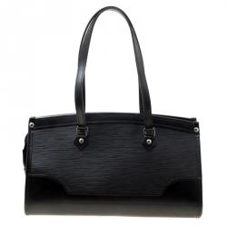 Louis Vuitton Black Epi Leather Madeleine PM Bag