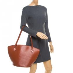 Louis Vuitton Kenyan Fawn Epi Leather Saint Jacques GM Bag