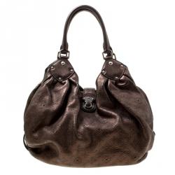 3be6007e0382 Buy Louis Vuitton Metallic Mordore Monogram Mahina Leather XL Bag ...